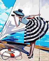 Картина по номерам: Прогулка на яхте, 40х50см. (КНО2644), фото 1