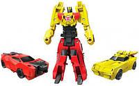 Бамблби и Сайдсвайп, Роботы под прикрытием: Крэш-Комбайнер, Transformers