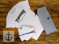 Мужские шорты Fila + Футболка Thrasher 🔥 (Фила Трешер)