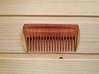 Мужской гребень для волос 10х5 см из сливы