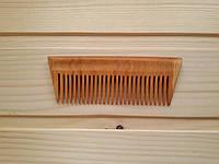 Деревянный узкий гребень для волос 10.5х5.5 см из черешни