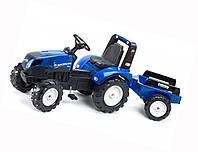 Детский трактор на педалях Falk 3090B NEW HOLLAND T8