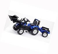 Детский трактор на педалях Falk 3090M NEW HOLLAND T8