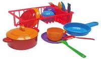 Набор  игрушечной детской посудки 9 шт