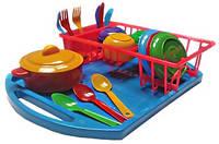 Набор  игрушечной детской посудки 3 шт