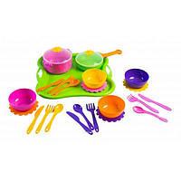 Столик-кухня, в чемодан., посуда, духовка, плита, звук, свет, на батар., в кор., 49*31*11см (12шт)