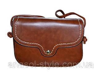 Коричневая маленькая сумочка Бона