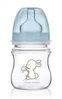 Бутылочка с широким горлышком Little Cutie, 120 мл, голубая, Canpol babies