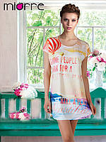 Платье-сорочка Miorre с принтом