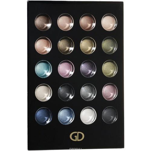 Косметический набор Золотые тени GA-DE