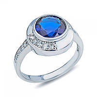 Кольцо из серебра с цирконом S218550268 S218550268
