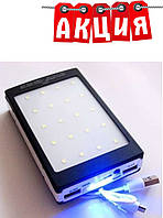 POWER BANK Metal Solar Led 15000 mAh UKC Smart. АКЦИЯ