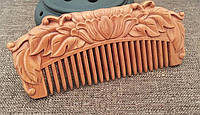 Гребень для волос из сандалового дерева
