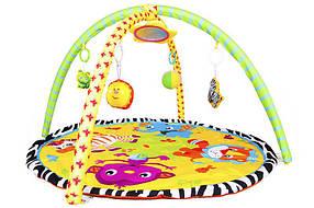 Развивающий коврик для малышей 898-303B. Круг с дугами