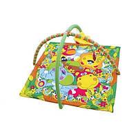 Развивающий коврик для малышей 898-307B. Квадрат с дугами