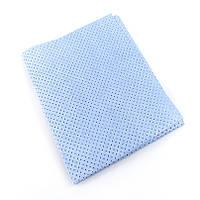 Профессиональная тряпка для авто перфорированная Синяя  NOWAX  40*50 см
