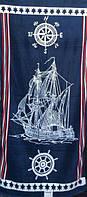 Пляжное полотенце Корабль