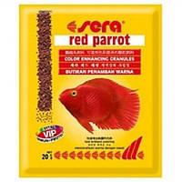 Сера корм для рыб Красный попугай