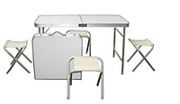 Набор стол и 4 стула для пикника оптом