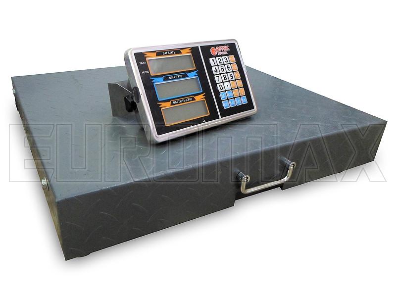 Весы электронные торговые WIFI BITEK 600кг 55х65см YZ-WIFI-600KG-5565