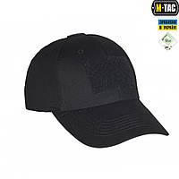 M-Tac бейсболка тактическая Flex рип-стоп Black
