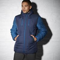 Спортивная мужская куртка с капюшоном Рибок Padded Mid AY1251
