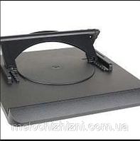 Подставка под ноутбук с охлаждением notebook holder heat dispersion effect (Арт. 158)