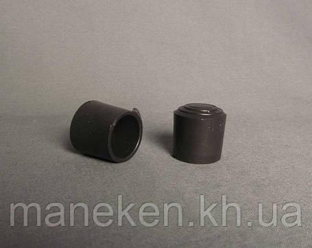 Колпак-наконечник на хромированную трубу, фото 2