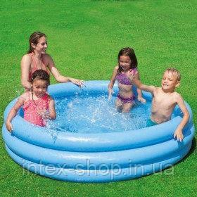 Детский надувной бассейн Хрустальный Intex 58446