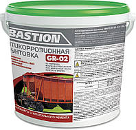 Грунтовка BASTION GR-02 антикоррозионная водно-дисперсионная по металлу (ВД-КЧ-0372)