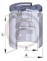 Порщень Тормозн СУПпорта ЗАДН VW T5  03-- D=41MM, L=51.1MM