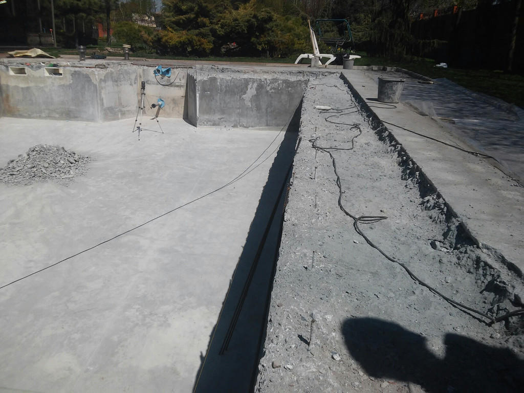 Реконструкция бетонной чаши бассейна 2
