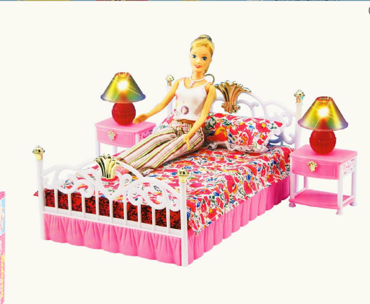 Набор мебели для кукол Gloria Спальня 99001