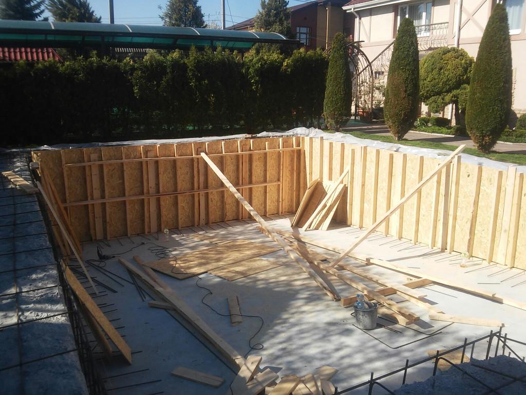 Реконструкция бетонной чаши бассейна 8