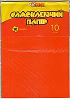 Бумага цветная А4 TIKI-50917 самоклеющаяся 10л.