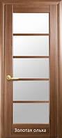 Дверь Муза стекло сатин