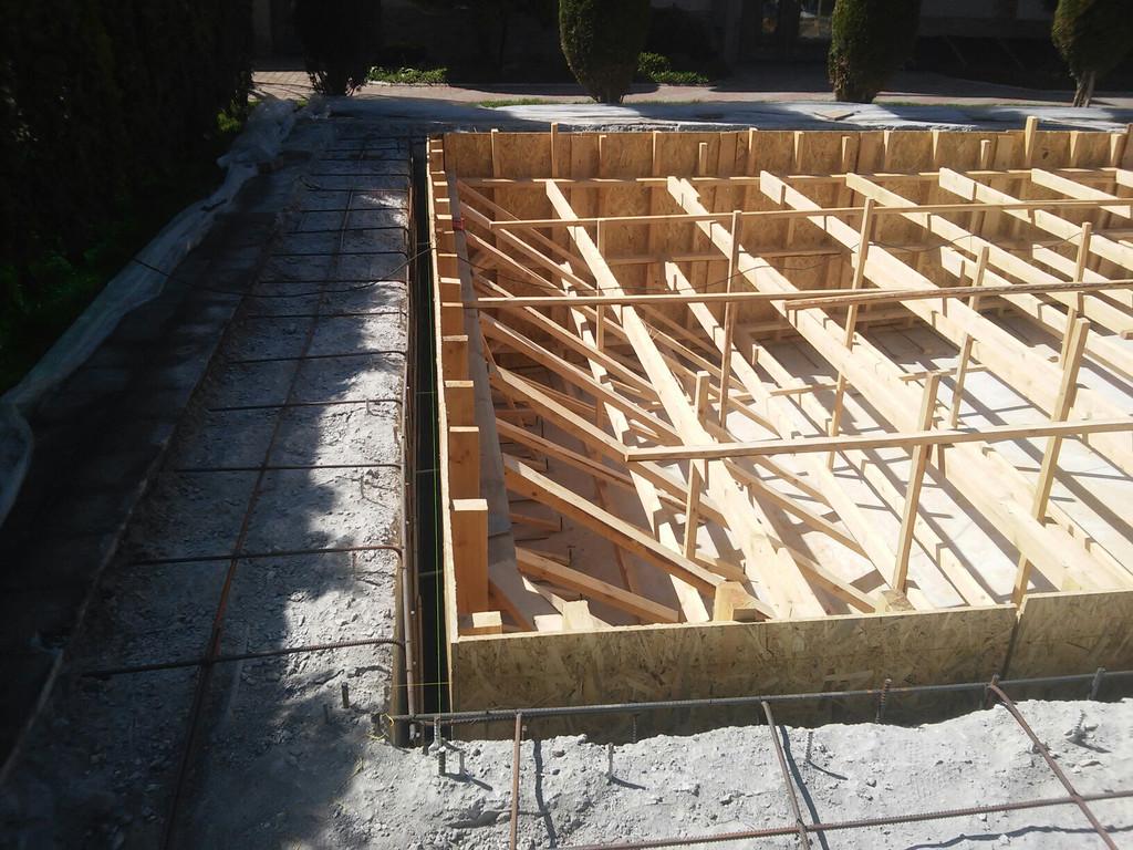 Реконструкция бетонной чаши бассейна 10