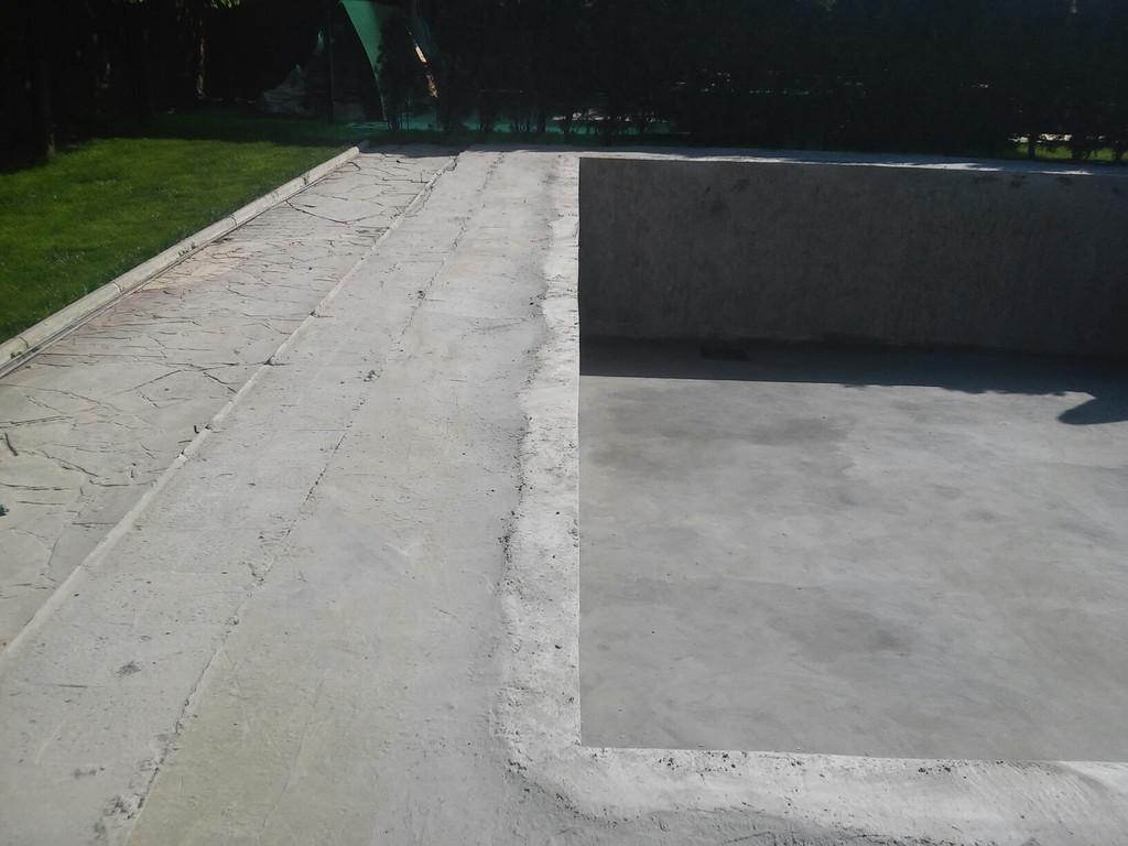 Реконструкция бетонной чаши бассейна 14