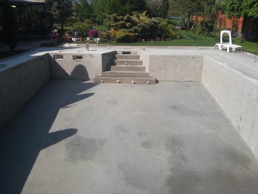 Реконструкция бетонной чаши бассейна 16