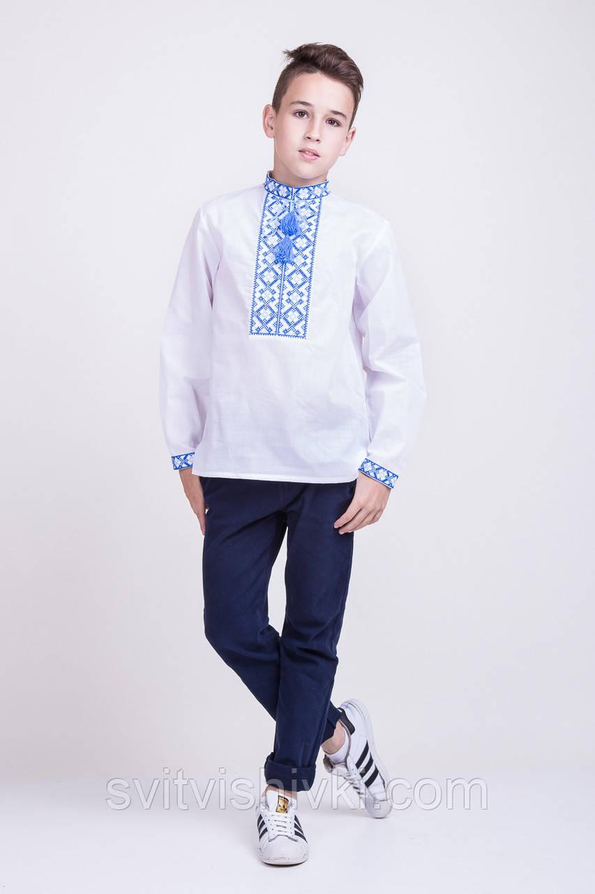 800f6366b946761 Вышитая рубашка крестиком на белом батисте: продажа, цена в ...