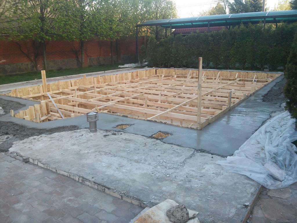 Реконструкция бетонной чаши бассейна 12