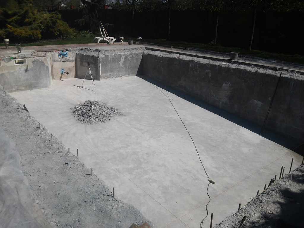 Реконструкция бетонной чаши бассейна 3