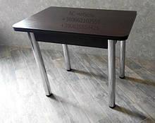Стол обеденный раскладной ноги хром
