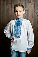 Детская вышиванка на мальчика с длинным рукавом
