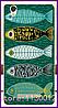 Силиконовый чехол с рисунком рыбок для Blackview a8