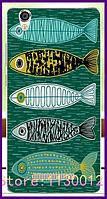 Силиконовый чехол с рисунком рыбок для Blackview a8, фото 1