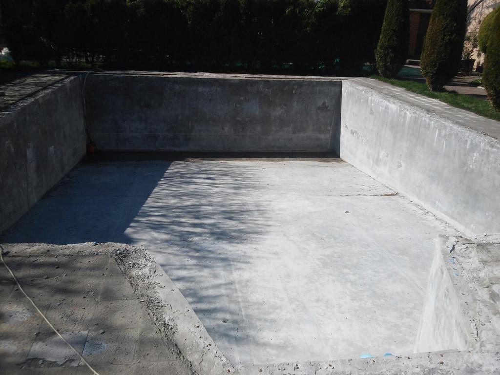 Реконструкция бетонной чаши бассейна 1