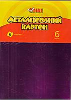 Картон цветной А4 TIKI-50916 металлизированный