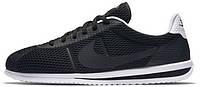 Мужские кроссовки Nike Cortez Ultra BR Black (Найк Кортес) черные