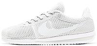Мужские кроссовки Nike Cortez Ultra BR White (Найк Кортес) белые